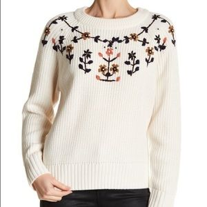 Heidi Embroidered Sweater